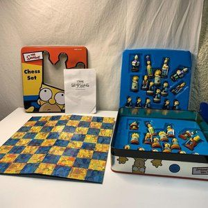 The Simpsons Vintage/2000  CHEST SET In Tin Collec